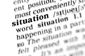 situation (the dictionary project)