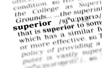 superior (the dictionary project)