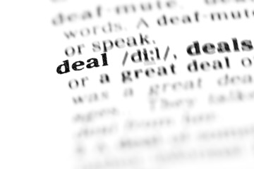 deal (the dictionary project)
