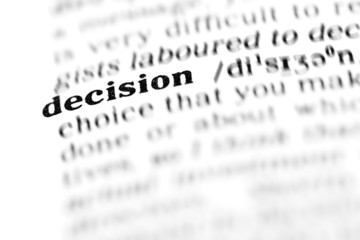 decision (the dictionary project)