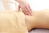 abdomen massage poster