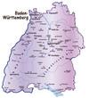 Baden-Württemberg flieder in SVG