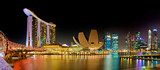 Marina Bay Singapore panorama