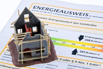 Rohbau Haus mit Energiepass