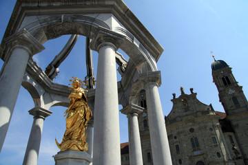 Frauenbrunnen in Einsiedeln