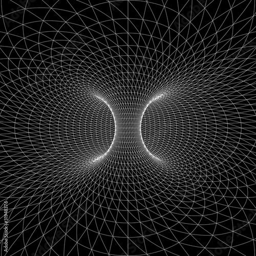 Torus (Donut) wireframe symbol