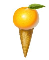 gelato mandarino