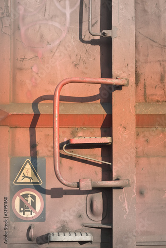 Rusty Cargo Freight Car