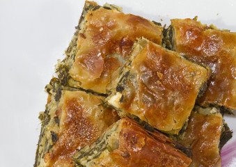 greek traditional spinach pie