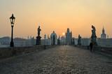 Fototapeta wschód - architektura - Zachód / Wschód Słońca