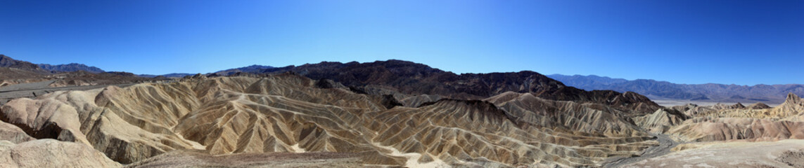 canyons dans la death valley
