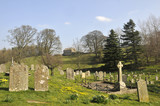 Graveyard at Aysgarth in Wensleydale, Yorkshire