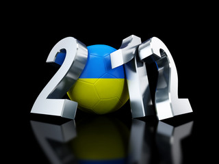 Europe on football 2012 Ukraine