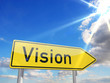 Wegweiser Vision