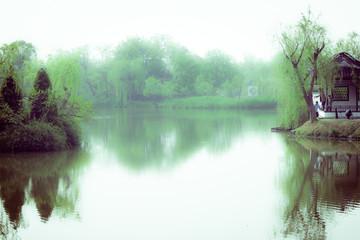 Slender west lake