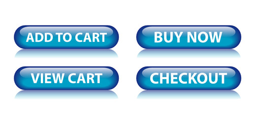 ADD TO CART | VIEW CART | BUY NOW | CHECKOUT Blue Web Buttons