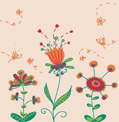 tre buffi fiori