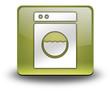 "Yellow 3D Effect Icon ""Laundromat"""