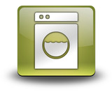"Yellow 3D Effect Icon ""Laundromat"""