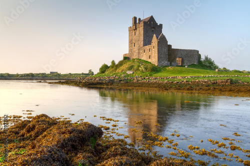 16th Century Dunguaire castle in west Ireland