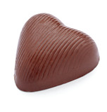 chocolate heart love dessert pieces sweet food
