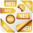 """Goldene Elemente """"NEU"""""""
