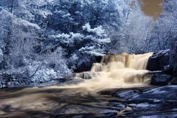 Infrared Waterfall