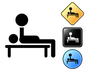 Weightlifting pictogram and signs.zip