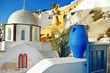 colors of Greece series-  pictorial Santorini