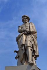 Amsterdam - Statua di Rembrandt Harmenszoon van Rijn