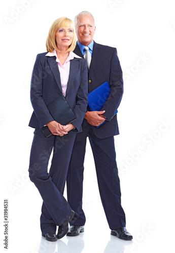 Leinwanddruck Bild Business people