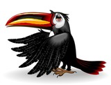 Tucano Cartoon-Toucan-Vector