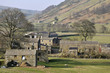 Swaledale landscape in Yorkshire Dales National Park - 31990103