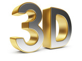 3D text. Entertainment cinema. Isolated. Illustration poster