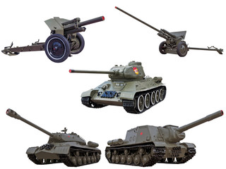 world war two legendary red army soviet guns cannons tanks and s