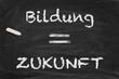 Bildung gleich Zukunft
