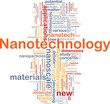 Nanotechnology background concept