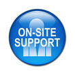 Boton brillante ON-SITE SUPPORT