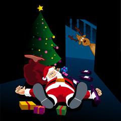 Santa's drunk again