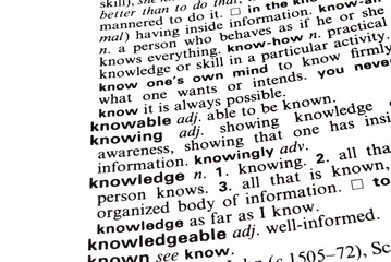 The Definition of Knowledge