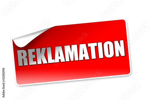 Reklamation! Button,Icon