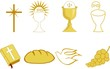 Golden Symbols of of Christianity - 32003141