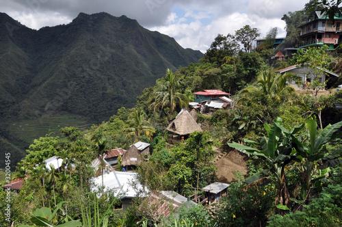 Papiers peints Colline Batad village, Luzon