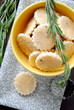 Cookies with rosemary