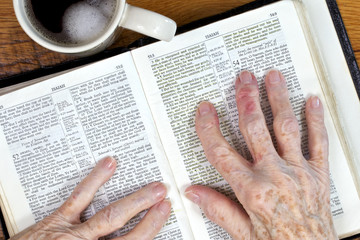 Arthritic Hands & The Ancient Word