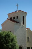 Adobe church building, Albuquerque