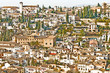 Wide View of Granada, Spain