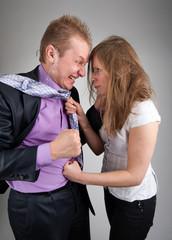 Business quarrel