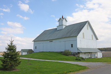 Historic White Barn