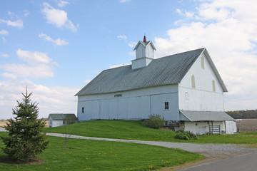Historic White Barn